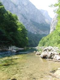 Ušće Rakitnice u Neretvu / mouth of Rakitnica in river Neretva