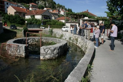 Posjeta proetus lokacijama u Trebinju tokom simpozijuma; Lokacija : Oko  / Visiting proteus locations in Trebinje during the symposium; location: Oko